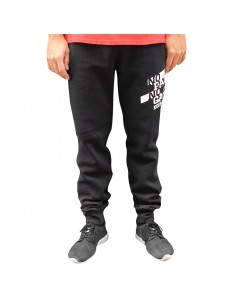 Pantalón Deporte NO PAIN NO GAIN MINDSPRAY en algodón, color negro