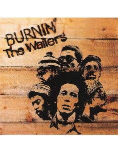 "VINILO LP BOB MARLEY ""BURNIN'"""