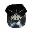 Gorra RAPSOLO SHO-HAI unisex, de algodón en color negro