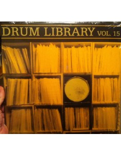 "VINILO LP DJ PAUL NICE ""DRUM LIBRARY VOL. 15"""