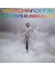 "VINILO LP BOOTSY'S RUBBER BAND ""STRETCHIN' OUT IN"""