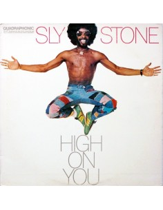 "VINILO LP SLY STONE ""HIGH ON YOU"""