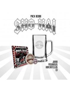 """PACK BEODO SHO-HAI """"LA ÚLTIMA FUNCIÓN"""" (CD, ABREBOTELLAS,POSAVASOS Y JARRA)"""