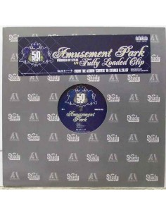 "VINILO MX 50 CENT ""AMUSEMENT PARK/FULLY LOADED CLIP"""