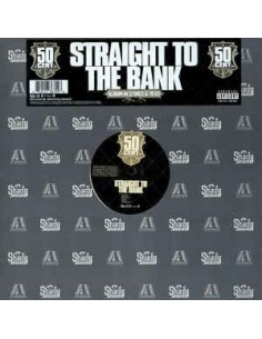 "VINILO MX 50 CENT ""STRAIGHT TO THE BANK"""