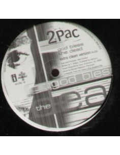 "VINILO MX 2PAC ""GOD BLESS THE DEAD"""