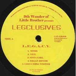 "VINILO MX 9TH WONDER ""L.E.G.A.C.Y."""