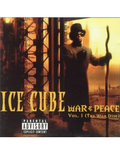 "VINILO 2LP ICE CUBE ""WAR & PEACE VOL.1 (THE WAR DISC)"""