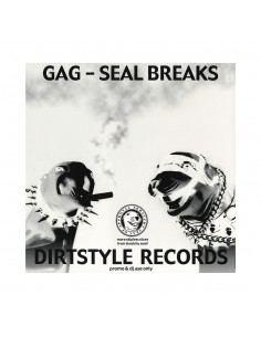 "VINILO LP DJ Q-BERT ""GAG - SEAL BREAKS"""