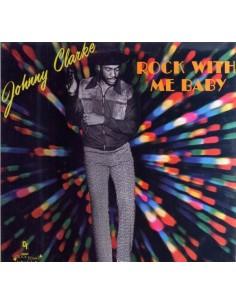 "VINILO LP JOHNNY CLARKE ""ROCK WITH ME BABY"""