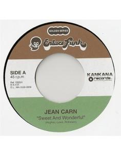 "VINILO 7"" JEAN CARN ""SWEET AND WONDERFUL"""