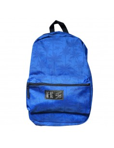 Mochila bagpack NPNG INDIGO PALM en polyester, color AZUL