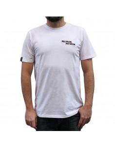 """Camiseta hombre NO PAIN NO GAIN  """"MINDSPRAY EMBROY"""" en algodón, color blanco"""
