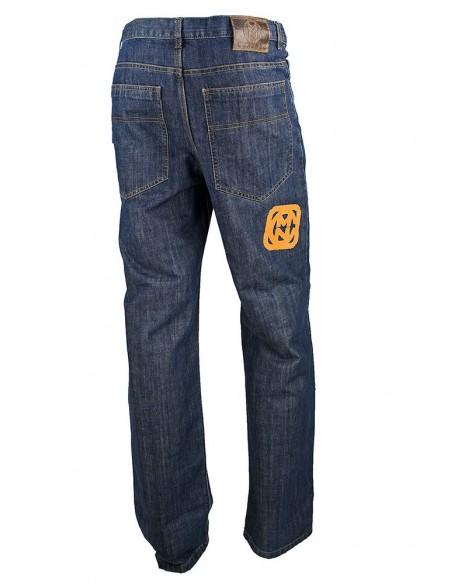 Pantalon COMUN98 KF PATCH NARANJA detras