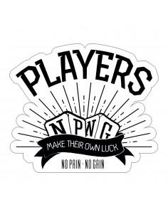 """PEGATINA NPNG """"PLAYERS"""""""
