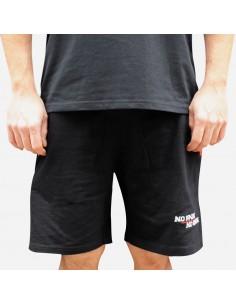 Pantalón Deporte corto NO PAIN NO GAIN MINDSPRAY en algodón, color negro