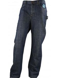 Pantalon COMUN98 KF PATCH AZUL delante