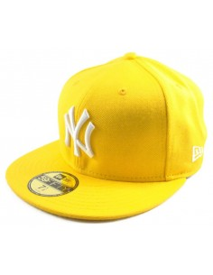 Gorra NEW ERA N.Y. YELLOW WHITE