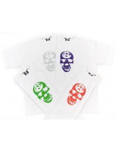 Camiseta COMUN98 CALAVERA BLANCA