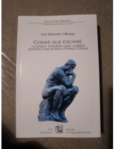 COSAS QUE ESCRIBÍ, CUANDO TENDRÍA QUE HABER ESTADO HACIENDO OTRAS COSAS Libro