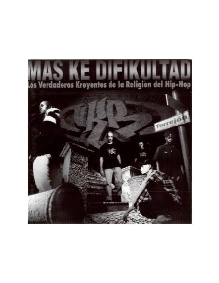 """VKR """"MÁS KE DIFICULTAD"""" CD"""