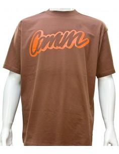 Camiseta COMUN98 TRAZO MARRON