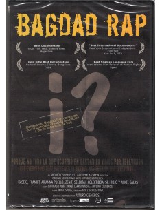 BAGDAD RAP Dvd/Cd