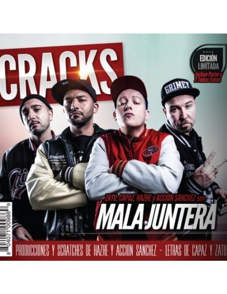 "PRERESERVA CD MALA JUNTERA ""CRACKS"" (ENTREGA 6 DE MARZO)"