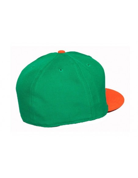 Gorra THE HUNDREDS SLANT GREEN detrás
