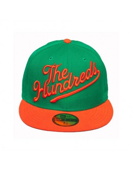 Gorra THE HUNDREDS SLANT GREEN delante
