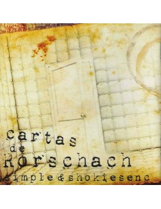 "SIMPLE & SHOKIESENC ""CARTAS DE RORSCHACH"" Cd"