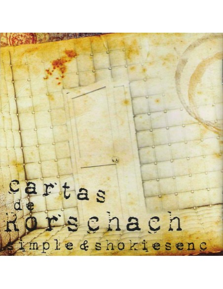 """SIMPLE & SHOKIESENC """"CARTAS DE RORSCHACH"""" Cd"""