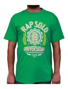 Camiseta RAPSOLO LOGO RS VERDE