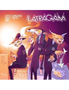 "LATRAGAM (LATEX DIAMOND, SHOLO TRUTH, KIBA) ""LATRAGAM"" Cd"