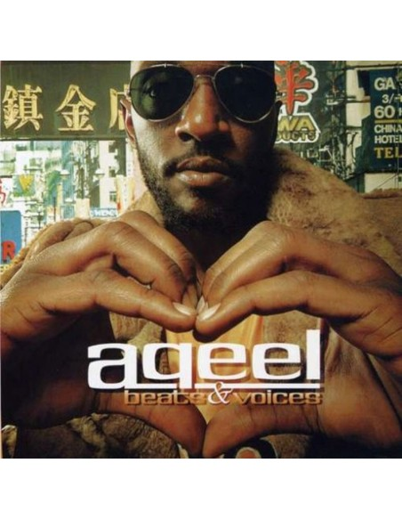 "AQEEL ""BEATS & VOICES"" CD"
