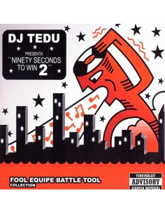 "DJ TEDU ""NINETY SECONDS TO WIN 2"" LP"