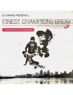 "VINILO LP DJ SWING ""FINEST CHAMPIONS BREAKS"""