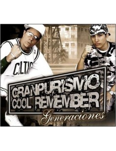 "GRANPURISMO & COOL REMEMBER ""GENERACIONES"" Cd"