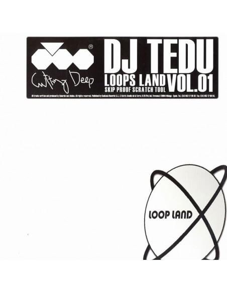 "VINILO LP DJ TEDU ""LOOPS LAND VOL.01"""