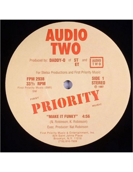 "AUDIO TWO ""MAKE IT FUNKY"" MX"