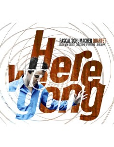 "PASCAL SCHUMACHER QUARTET ""HERE WE GONG"" LP"