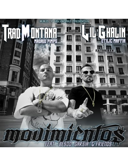 "TRAD MONTANA Y LIL'GHALIN ""MOVIMIENTOS"" Cd"