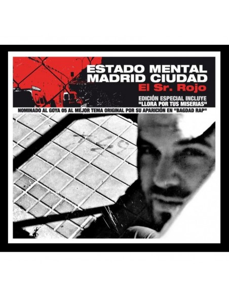 """EL SR.ROJO """"ESTADO MENTAL MADRID CIUDAD"""" Cd Ep"""