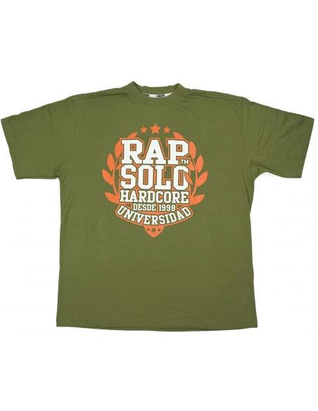 Camiseta RAPSOLO UNIVERSIDAD VERDE-BEIGE