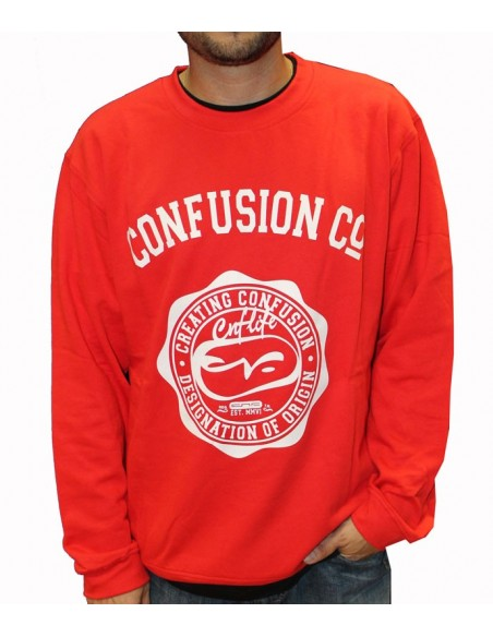 Sudadera CNF COLLEGE FLEECE RED