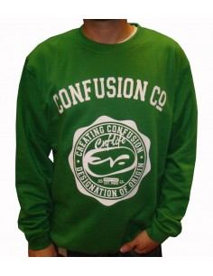 Sudadera CNF COLLEGE FLEECE GREEN