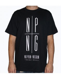 Camiseta RAPSOLO LOGO NPNG NEGRA