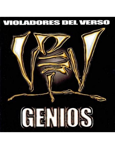 """VINILO VIOLADORES DEL VERSO """"GENIOS"""" 2LP"""