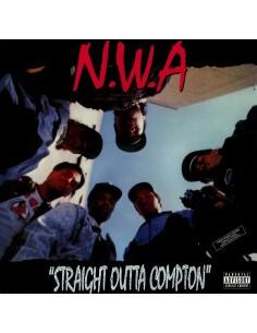 """VINILO LP N.W.A. """"STRAIGHT OUTTA COMPTON"""""""
