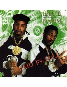 "VINILO color  LP ERIC B & RAKIM ""PAID IN FULL"""
